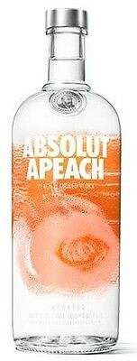 Absolut Apeach Vodka (12 x 1000mL)