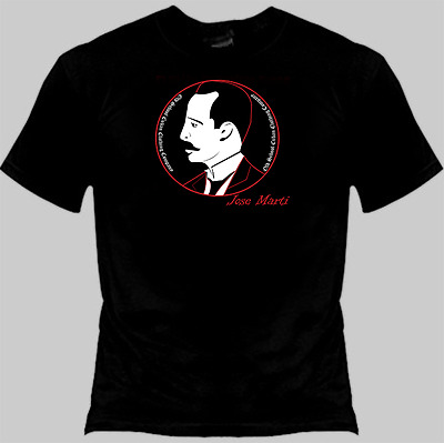 Cuban Patriot Poet Revolutionary Jose Marti Old School Cuba T/Shirt Tee Shirt