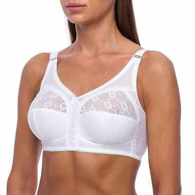 Bra by FV Full Coverage Wireless Unpadded Plus Size SECRET OF GODDESS VICTORIA