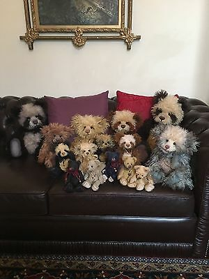 Charlie Bears Mohair Furnackerpan DONOT BUY NOW UNTIL YOU CONTACT ME