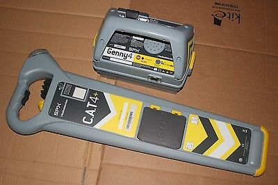 Radiodetection CAT4+ and Genny4 Cable Avoidance Tool System pipe locator Kit