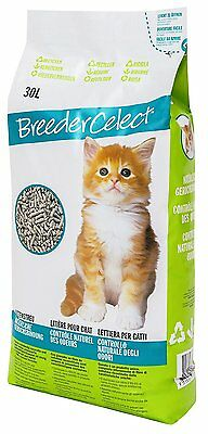 Breeder Celect Cat Litter - Odur Control 30 Litre Bag