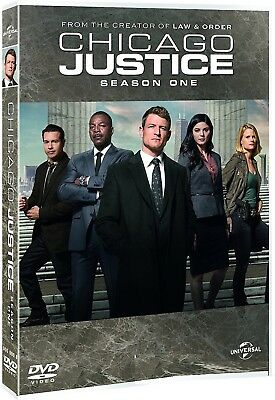 CHICAGO JUSTICE 1 (2017) Prosecution Drama TV Season Series - NEW R2 DVD not US