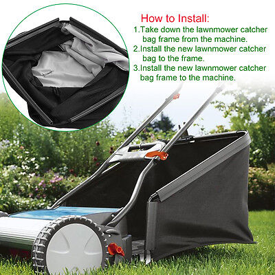 Lawnmower Leaf Grass Catcher Bag For 21 Honda Hru214 Hru215 Hru216 Lawn Mower