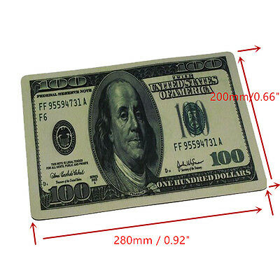 1 Pack Dollar 3D Anti Slip Laptop Computer PC Mice Pad Mat Mousepad For Mouse