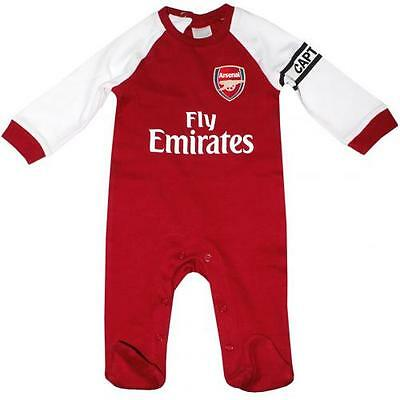 Arsenal Sleepsuit 6 / 9 Months DR Babygrow Baby Gunners Gift 17 / 18 Official