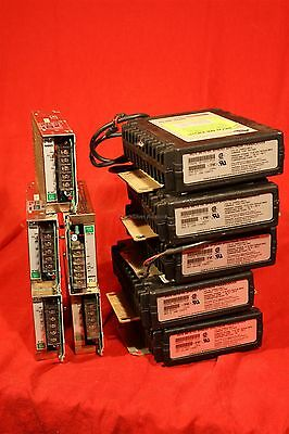 Lot of 5 MDS-9810-HL  GE, Spread Spectrum Transceivers  w. 5 Cosel 4.2A 12V PS.