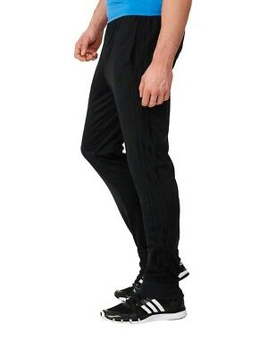NWT Men's Adidas Essential Tapered Performance Jogger Pants Black