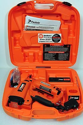 Paslode Cordless 16 gauge Angled Finish Nailer As Min't Condition