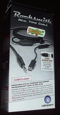Rocksmith Real Tone Cable NEW UBisoft PC XBOX ONE 360 PS3 Playstation 4 PS4