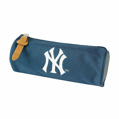 New York Yankees Pencil Case Round School Gift Fan New Official Licensed Product