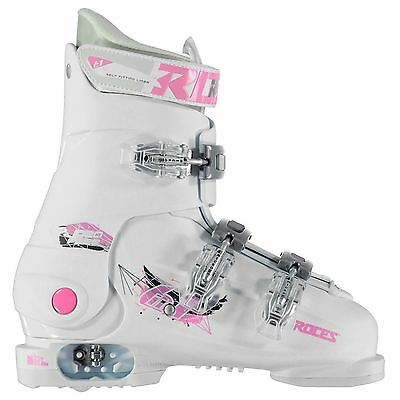 Roces Childrens Idea Free Ski Boots Shoes Footwear Adjustable Buckles