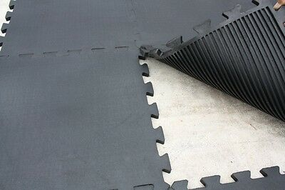 Rubber jigsaw matting gym mats commercial