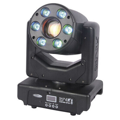 Showtec Shark Combi Spot One LED Movinghead 30 W LED Moving Light Effekt schwarz