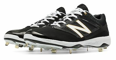 New Balance Low-Cut 4040v3 Metal Cleat Mens Shoes Black