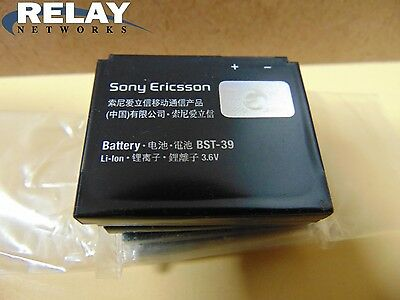 Sony Ericsson BST-39 cell phone batteries - lot of 7.  Unused