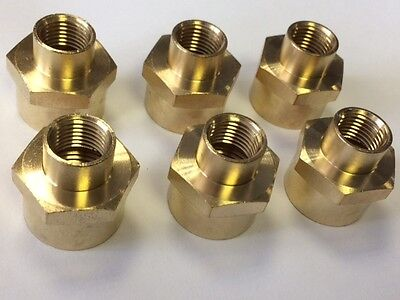 "6 x 1/2"" BSP X 1/4"" BSP  REDUCING BARRELS"