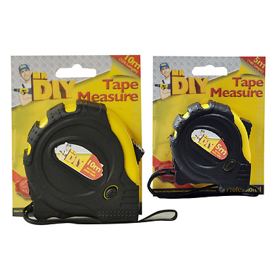 Professional Tape Measure 5m or 10m - Expert DIY Kingfisher (1 Supplied)