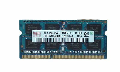 Lot of 2 4GB DDR3-1600 PC3-12800S 2Rx8 DDR3 SDRAM Laptop Memory