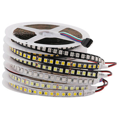 DC 24V SMD5050 Led Strip Light 120Leds/m 600Leds Flexible Ribbon Tape Rope 5M
