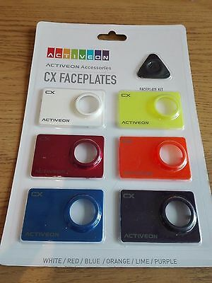 ACTIVEON Accessories CX Faceplates Front Color Kit (pack of 6)