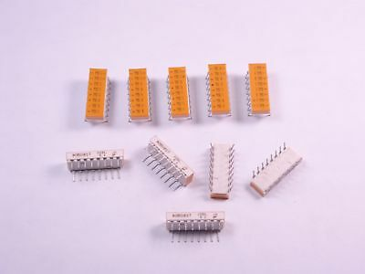 Lot of 10 90B08ST Grayhill Through Hole DIP Switch 8 Position ON OFF SPST NOS