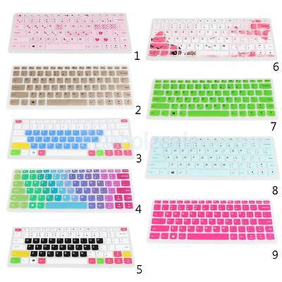 Dustproof Silicone Laptop Keyboard Skin Film Cover for Lenovo 310S 14 inch