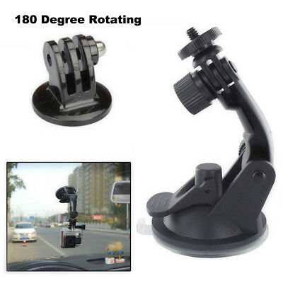 Suction Cup Car Window Windshield Glass Mount Holder for GoPro Hero 4 3 2 Camera