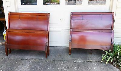 Antique twin sleigh beds Dallas local pickup