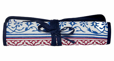 KnitPro knitting needle case for double pointed needles, Navy