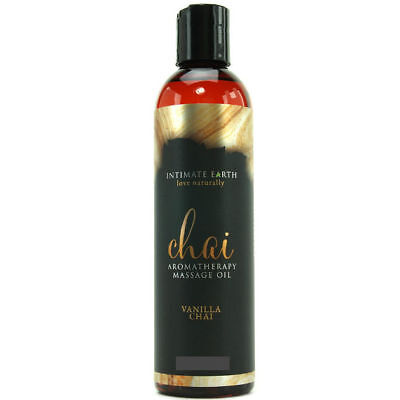 Intimate Earth Aceite Masaje Aromaterapia Chai Vainilla 120Ml | Intimate Earth