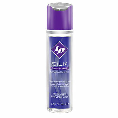 Lubricante ID SILK NATURAL FEEL WATER/SILICONE 65ML +REGALITO