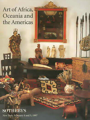 Sotheby's Art of Africa Oceania & The Americas Auction Catalog 1997