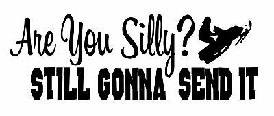 """Larry Enticer Larryenticer69 """"Are You Silly Still Gonna Send it"""" sticker"""