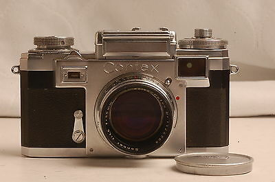 Contax Iiia Color-Dial 50Mm F1.5 Carl Zeiss-Opton Sonnar