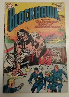 BLACKHAWK #188  DC COMICS SEPTEMBER 1963 (The petrified Giant) COMIC