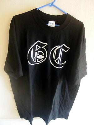 Good Charlotte GC Logo T-Shirt, Band shot on back, Rare & Out of Print, Vintage