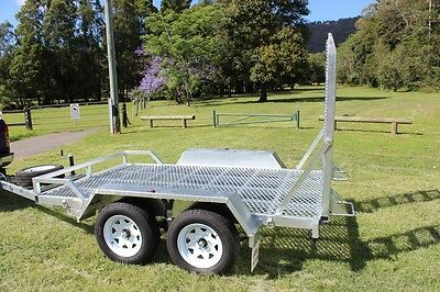 New Plant Trailer Ozzi 10x6 3.5 Tonne Galvanised