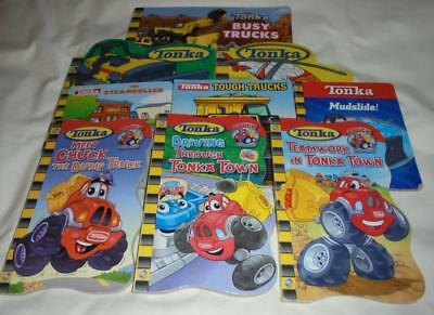 HUGE set of 9 Tonka board books