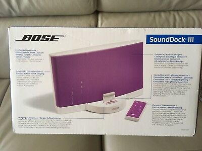 Limited Edition Bose SoundDock III - New in Box
