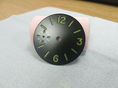 34.5mm Watch Dial Luminous Number Wristwatch Dial for 6497 3600 Movement