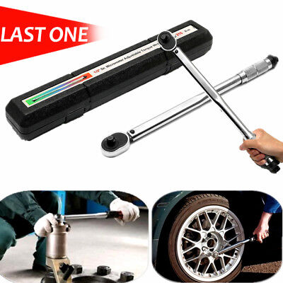 1/2' Ratchet Spanner Head  Square Drive Accurate Micrometer Torque Wrench 210Nm