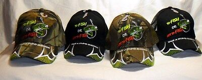 To Fish Or Not To Fish What A Stupid Question Hat Baseball Cap Bass Fishing Hat