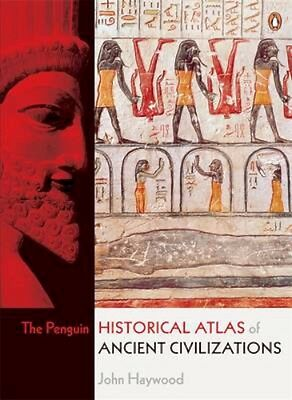 NEW The Penguin Historical Atlas Of Ancient Civilizations... BOOK (Paperback)