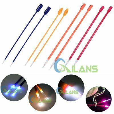 4.5/ 5/ 8/ 9mm Crochet Lite Knitting Needles DIY Sewing Tool With LED Light Up