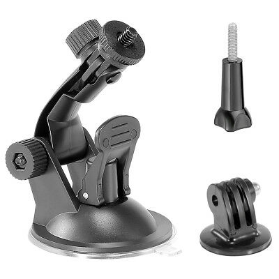 Suction Cup Mount + Tripod Mount + Handle Screw for GoPro HD Hero 2 3 3+ 4 5