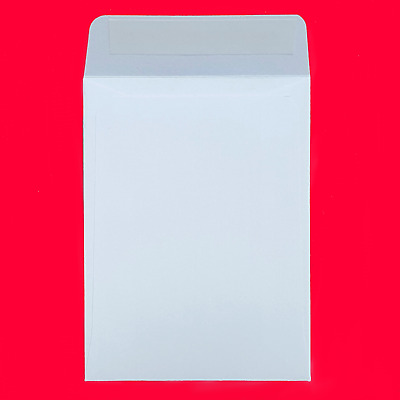 Small White Envelopes 92x68mm Peel and Seal Money/Card/Flowers/Beeds/Seeds/Wage