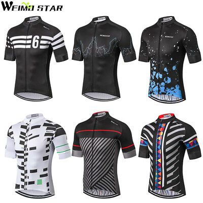 WEIMOSTAR Cycling Jersey MTB Men Bicycle Clothing Short Sleeve Bike Wear Clothes