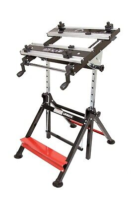 Lumberjack LWM826 Folding Work Bench Mate Portable Workmate Trestle Stand