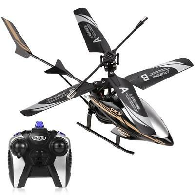 Mini Electric LED Head Light 2CH Infrared RC Remote Control Helicopter C5 01